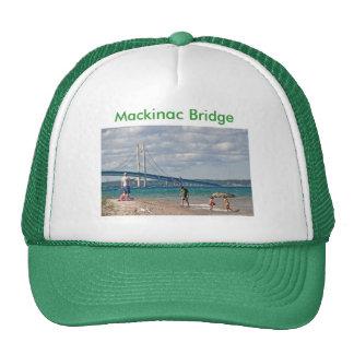 Puente de Mackinac Gorro De Camionero