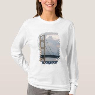 Puente de Mackinac, Michigan, los E.E.U.U. Playera