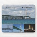 Puente de Mackinac - Michigan Tapete De Ratones