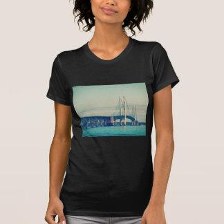 Puente de Mackinac Playera