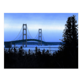 Puente de Mackinac Postal