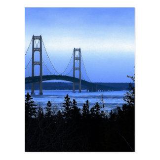 Puente de Mackinac Postales