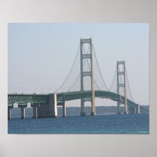 Puente de Mackinac Póster