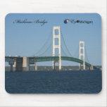 Puente de Mackinac Tapetes De Raton