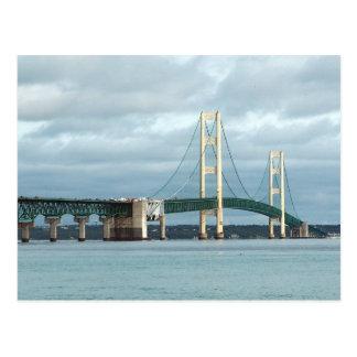 Puente de Mackinac Tarjetas Postales