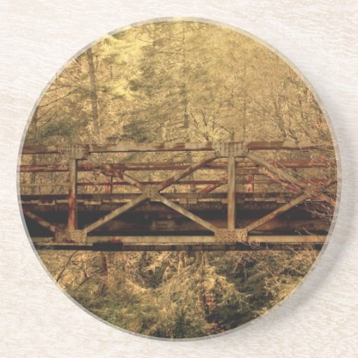 Puente de madera posavasos manualidades