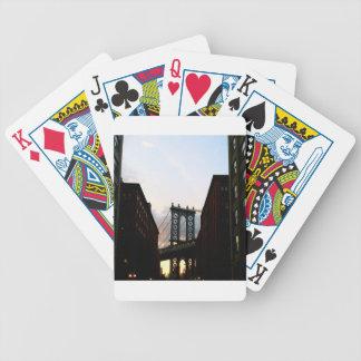 Puente de Manhattan Baraja Cartas De Poker