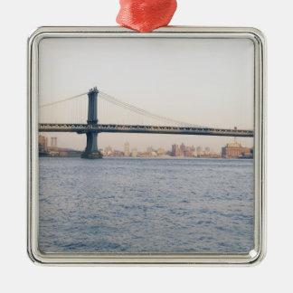 Puente de Manhattan Adornos De Navidad