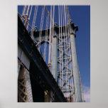 Puente de Manhattan Poster