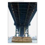 Puente de Manhattan Tarjetas