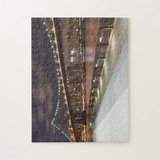 Puente de Manhattan y rompecabezas del horizonte d
