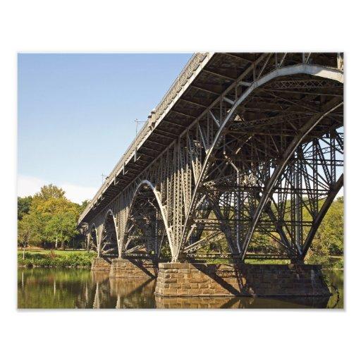 Puente de Manson de la fresa, IMPRESIÓN de la FOTO