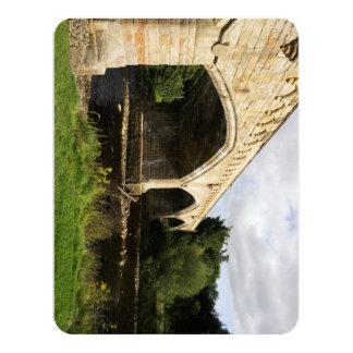 """Puente de Mercury, Richmond Invitación 4.25"""" X 5.5"""""""