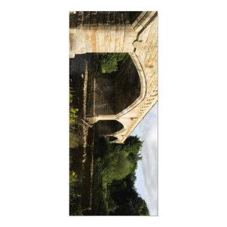 """Puente de Mercury, Richmond Invitación 4"""" X 9.25"""""""