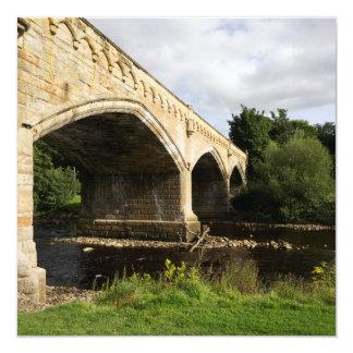 """Puente de Mercury, Richmond Invitación 5.25"""" X 5.25"""""""