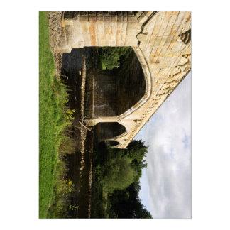 """Puente de Mercury, Richmond Invitación 5.5"""" X 7.5"""""""