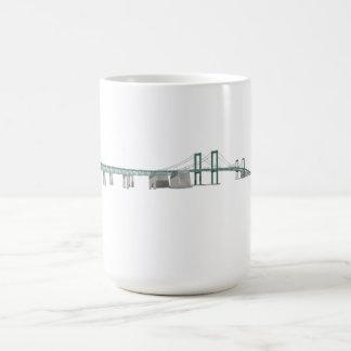 Puente de monumento de Delaware modelo 3D Tazas De Café