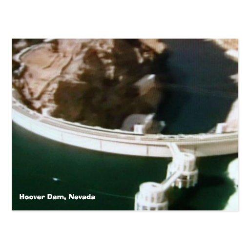 puente-de--mundo 016, Preso Hoover, Nevada Tarjeta Postal