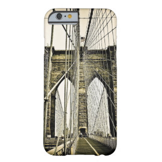 Puente de New York City Brooklyn Funda Barely There iPhone 6