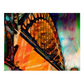 Puente de Newcastle Tyne Tarjeta Postal