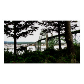 Puente de Newport Posters