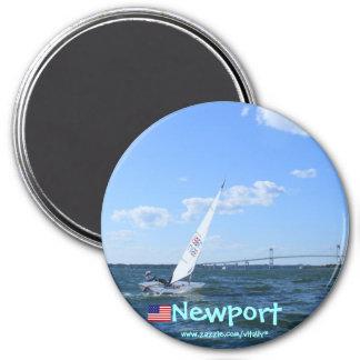 Puente de Newport Rhode Island Pell al imán de New
