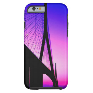 Puente de Normandía, Le Havre, Francia Funda De iPhone 6 Tough