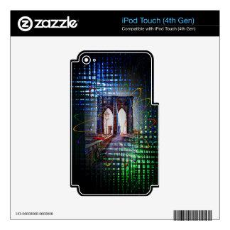 Puente de Nueva York - de Brooklyn iPod Touch 4G Skin