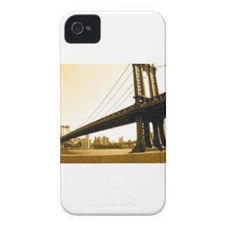 Puente de NYC iPhone 4 Cárcasa