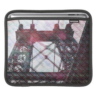 Puente de NYC Williamsburg patternized Mangas De iPad