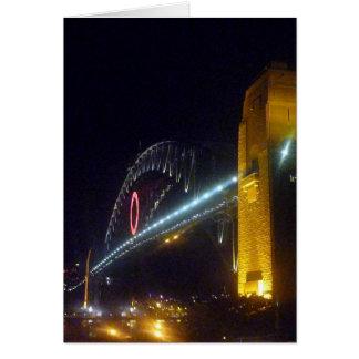 puente de o Sydney Tarjeta De Felicitación