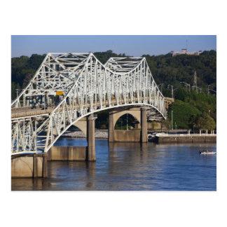 Puente de O'Neil en el río Tennessee, Florencia, Postales