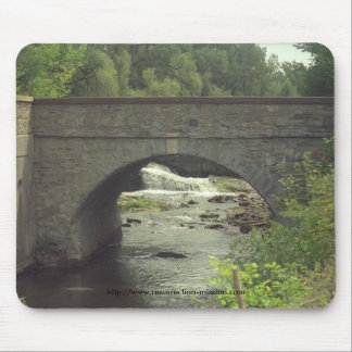 Puente de Pad~~Stone del ratón Alfombrillas De Ratones