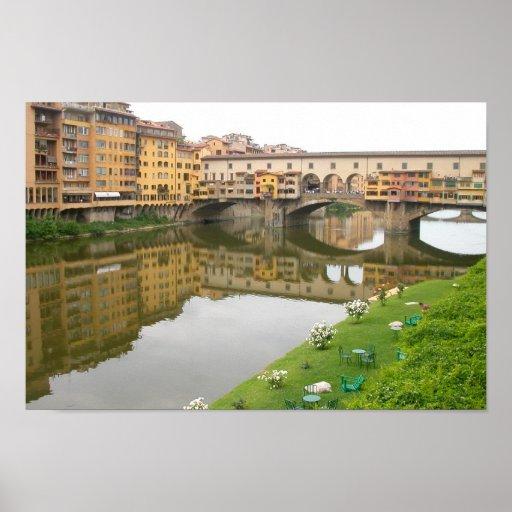 Puente de Palazzo Vecchio Póster