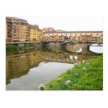 Puente de Palazzo Vecchio Tarjetas Postales