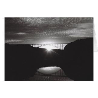 Puente de Perrine Tarjeta Pequeña
