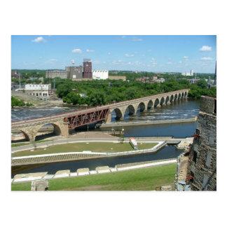 Puente de piedra de Arche Postales