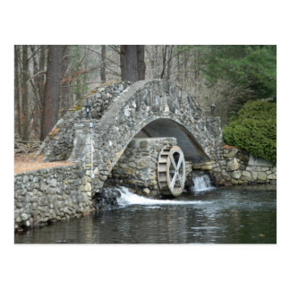 Puente de piedra de Nueva Inglaterra Postal