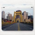 puente de Pittsburgh Tapete De Ratones