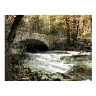 Puente de Pohono, Yosemite Tarjetas Postales