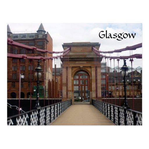 puente de Portland Glasgow Tarjeta Postal