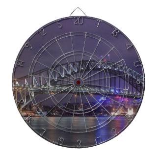 Puente de puerto de Sydney Austrailia Tablero Dardos