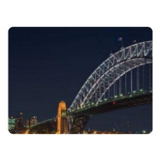 """Puente de puerto de Sydney Austrailia Invitación 6.5"""" X 8.75"""""""