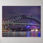 Puente de puerto de Sydney Austrailia Posters