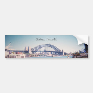 Puente de puerto de Sydney de la pegatina para el  Pegatina De Parachoque