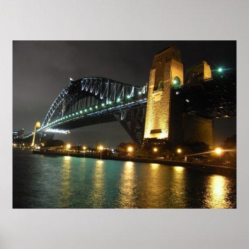 Puente de puerto de Sydney Posters