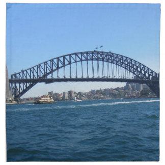 Puente de puerto de Sydney Servilletas