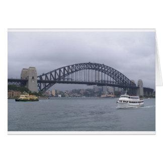 Puente de puerto de Sydney Tarjeta De Felicitación