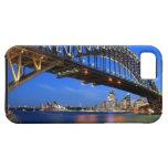Puente de puerto de Sydney, teatro de la ópera de  iPhone 5 Case-Mate Protectores