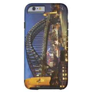 Puente de puerto de Sydney y hotel de Hyatt Sydney Funda De iPhone 6 Tough
